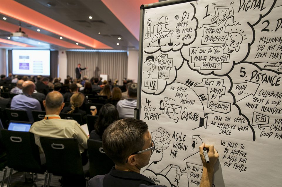 Agile Business Conference 2018 Reflective Insights Webinar Series - Illustrating Agile